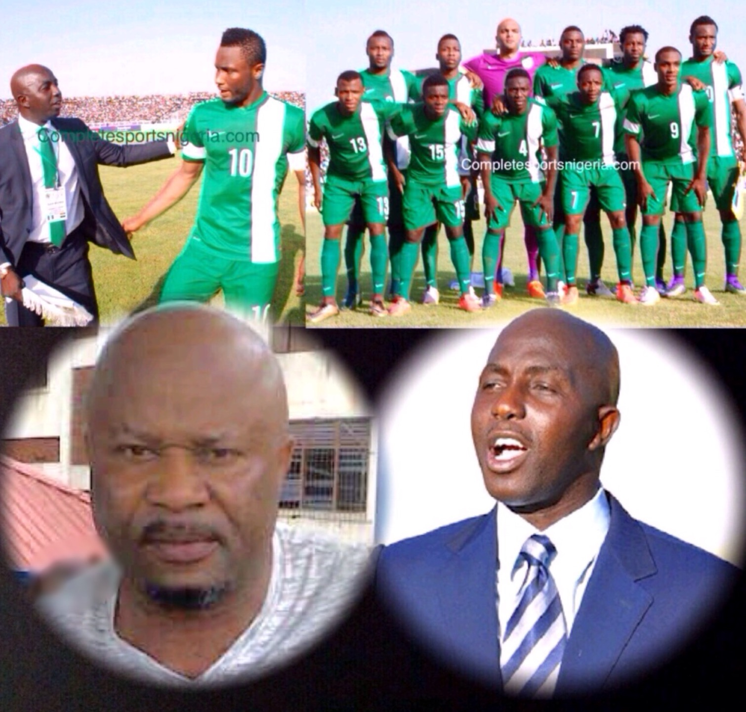 Iroha: Siasia Can Guide Super Eagles To 2018 World Cup
