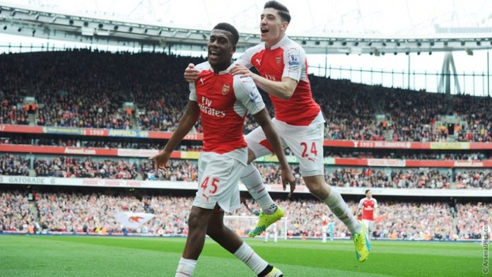 Iwobi: I Can Never Forget My First Arsenal Goal