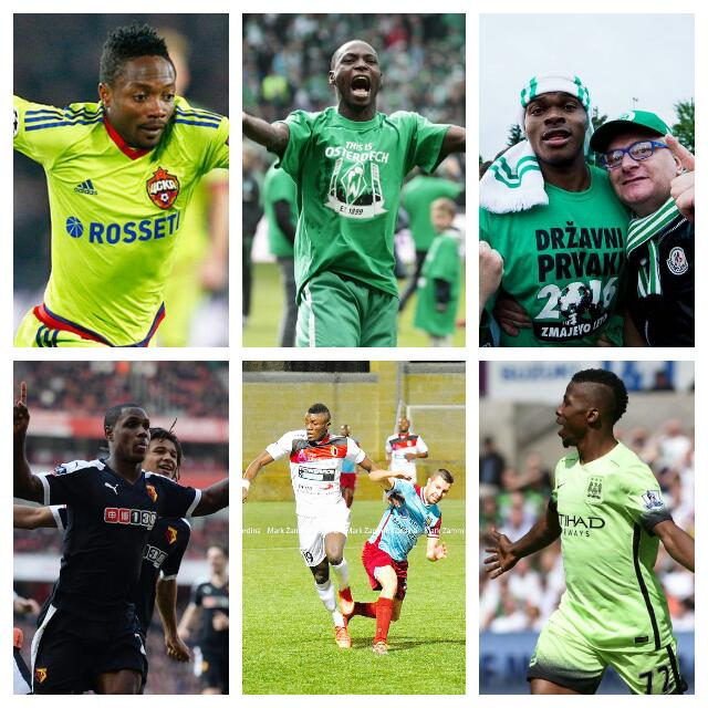 Nigeria's Finest Footballing Talent In Europe