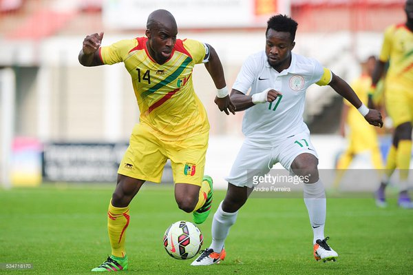 Onazi Goes Spiritual For Luxembourg Vs Nigeria Friendly