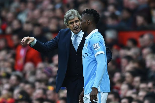 Iheanacho Grateful To Pellegrini For Man City Chance