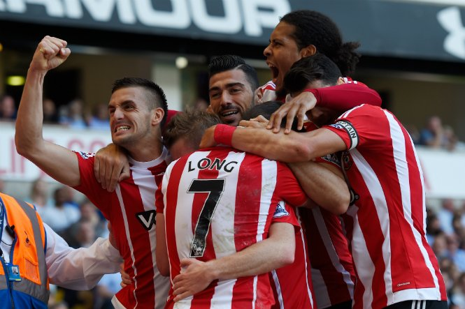 Southampton Dent Tottenham's Runners-Up Hopes