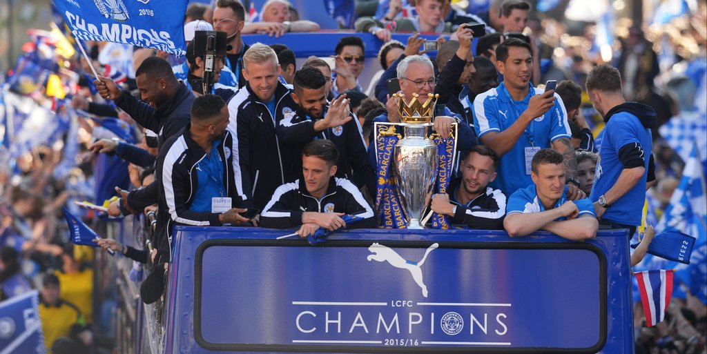 Ranieri Named Manager Of The Year In England