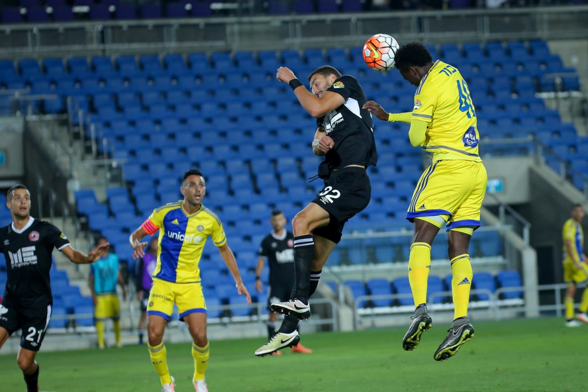 Igiebor Scores In Maccabi Tel Aviv Away Draw Vs  Raanana