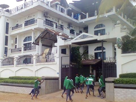 Flying Eagles Workout At Sunsafari Club Hotel Burundi