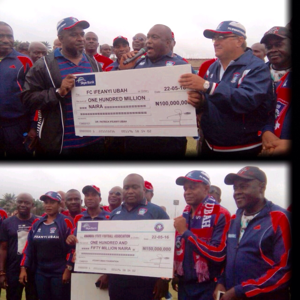 FC IfeanyiUbah Get N100m Lifeline From Club Owner; Chief Ubah Also Donates N150m To Anambra FA