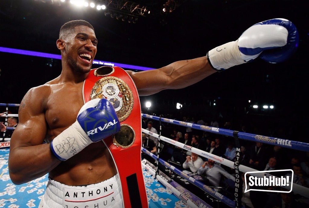 Promoter Plots Anthony Joshua Sellout Fight In Beijing