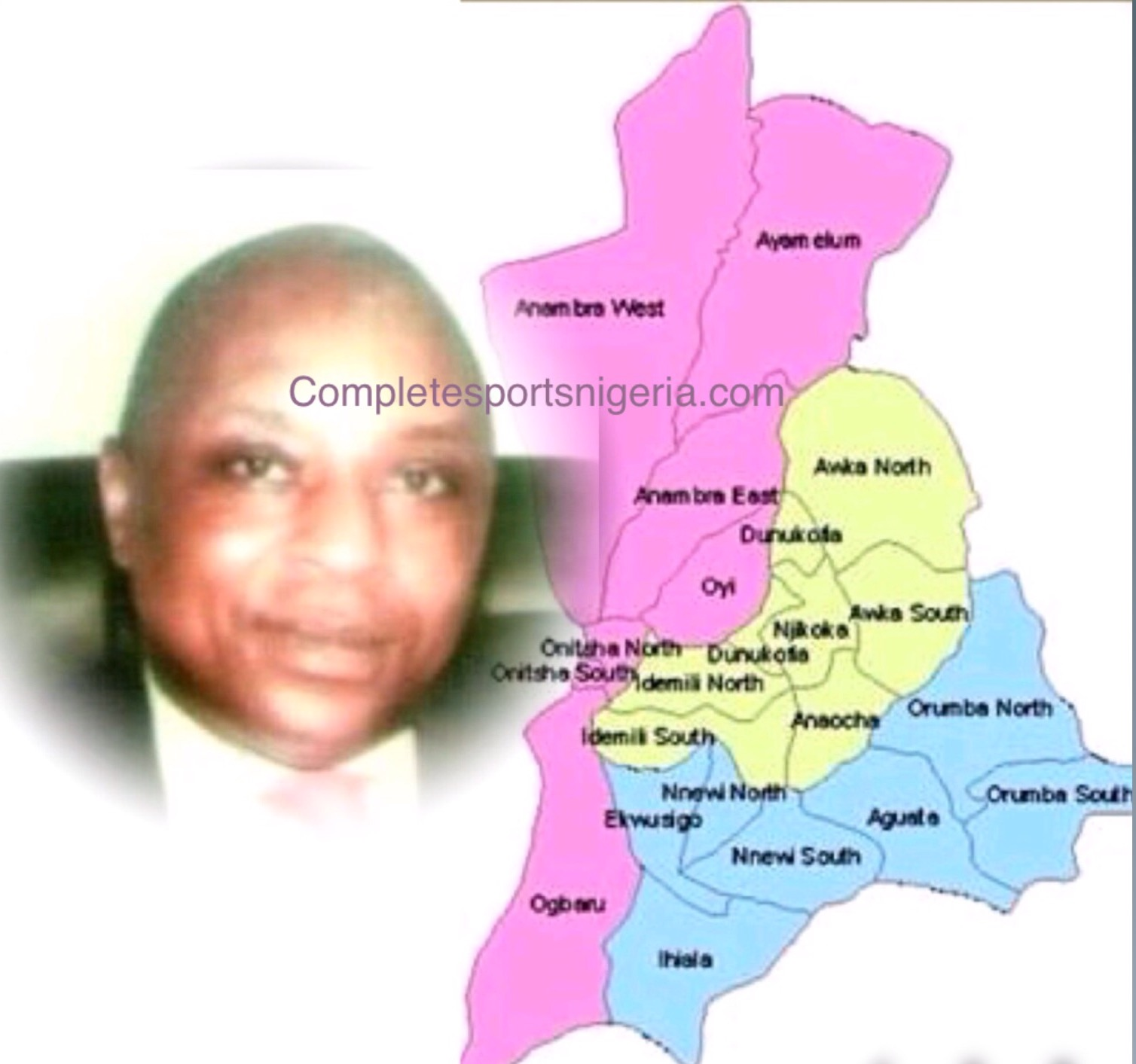 Chief Olisah Aniunoh: 'No Anambra FA Election, What‎ Happened Was Electoral Committee's Sheer Foolishness