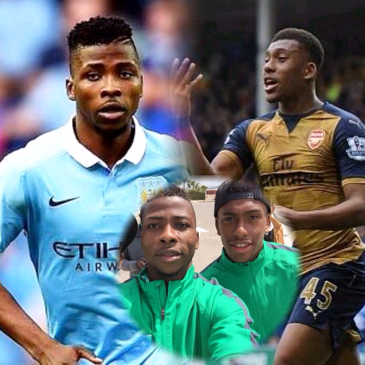 Iheanacho Eager To Face Iwobi As Man City, Arsenal Clash