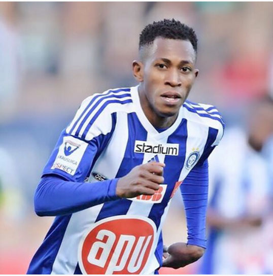 Oduamadi Dedicates First HJK Goal To Late Father