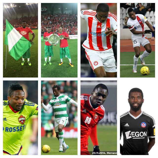 CHAMPIONS! 10 Nigerians Who Won 2015/2016 League Titles In Europe
