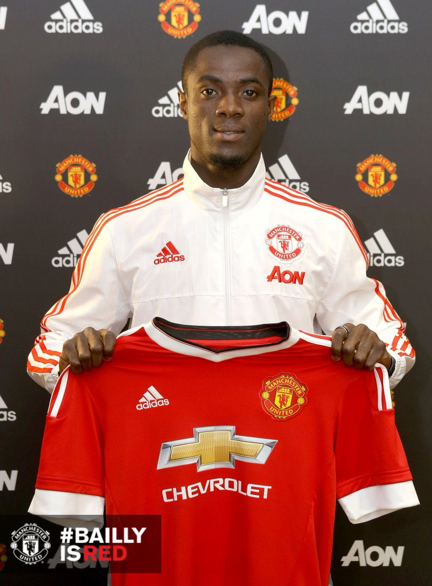 Man United Confirm Bailly As Mourinho's First Signing