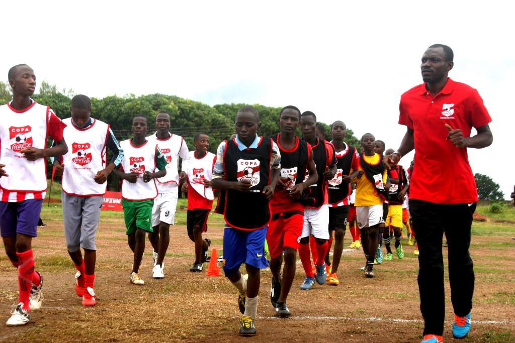 COPA Coca-Cola: Garba Lawal Gives Hope To Young Footballers At Copa Coca-Cola Training Camp