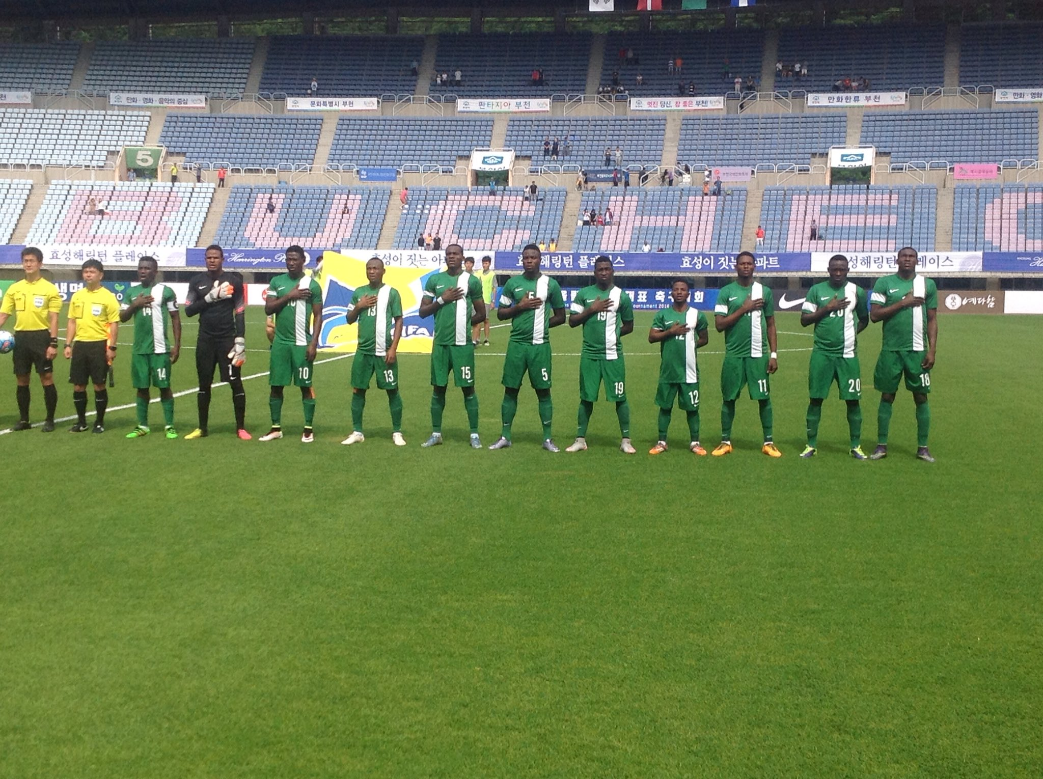 Suwon Tourney: U-23 Eagles Bounce Back To Beat Honduras