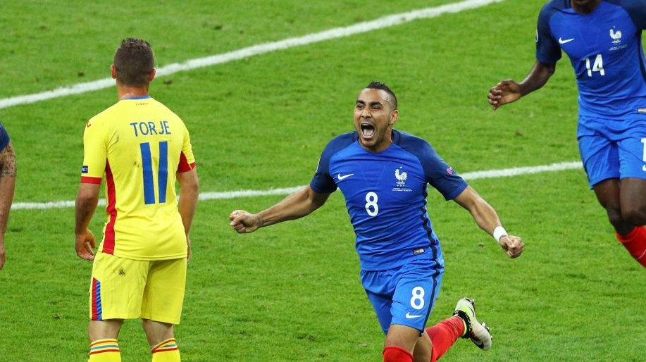 Giroud, Payet  Score As France Beat Romania In Euros Opener