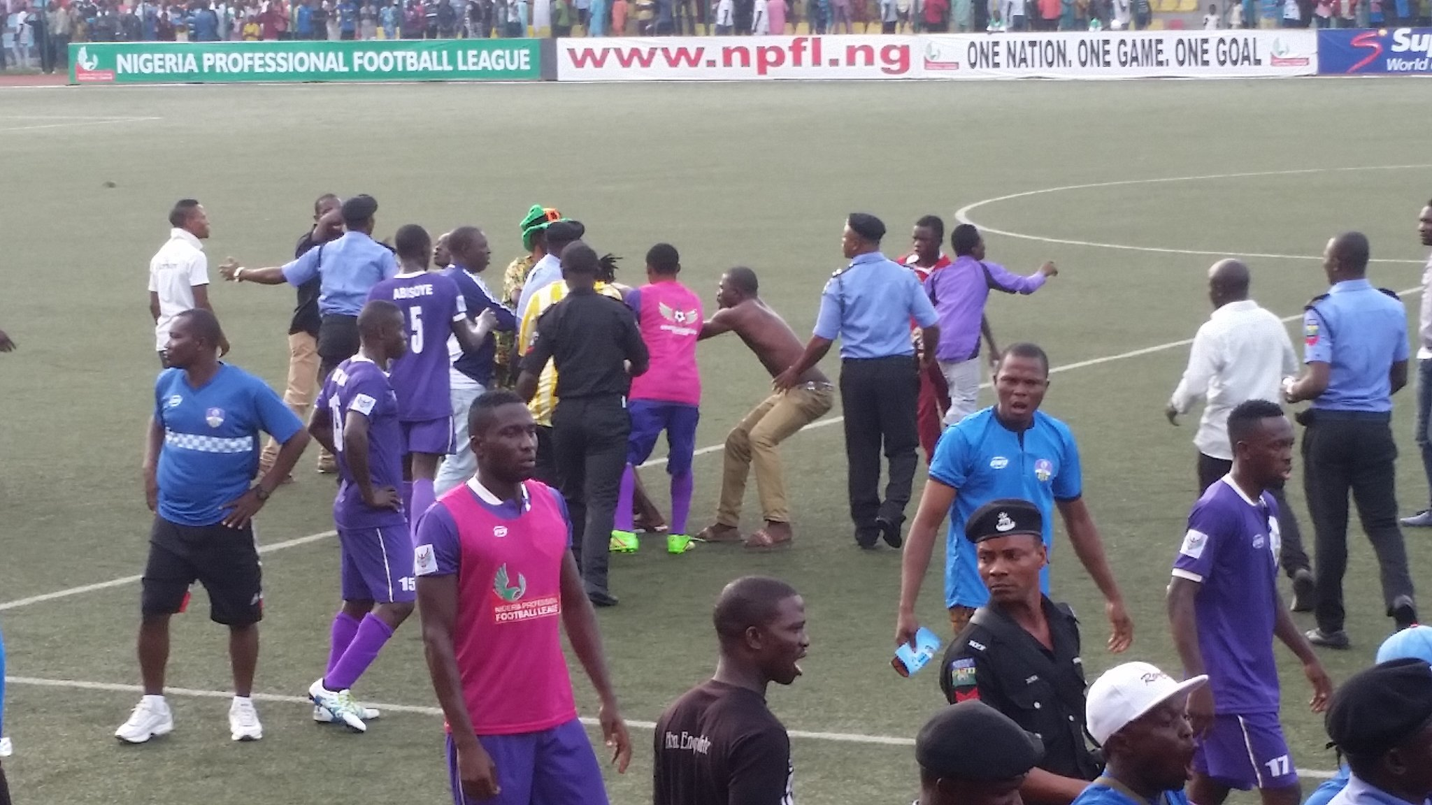 NPFL: Thugs Mar 3SC's Win Over MFM; Wikki Extend Lead