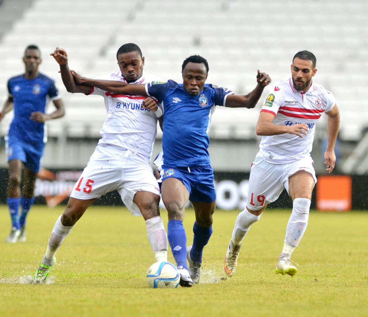 Enyimba Coach Sure Of CAFCL Semis Despite Zamalek Defeat