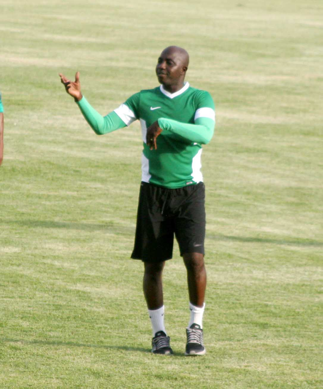 Suwon: Siasia Vows To Change Line-Up Vs Denmark, Avoid Defeat