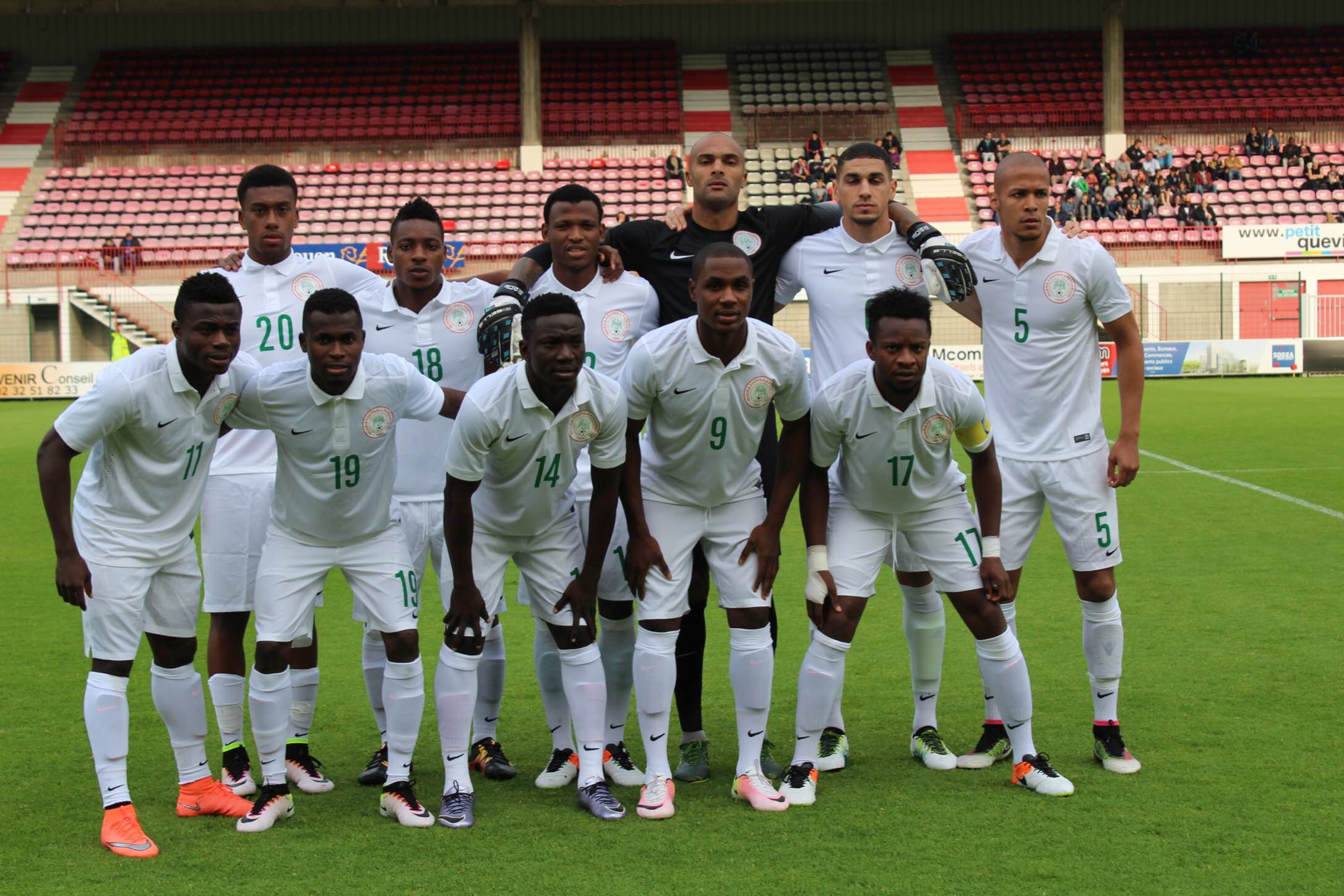 MIXED FORTUNES: Nigeria's Scorecard Against Algeria, Cameroon, Zambia In Qualifiers