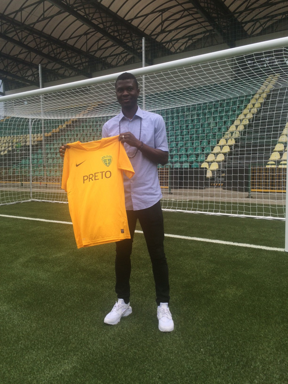 Ex-Eaglet Otubanjo Delighted With MSK Zilina Move
