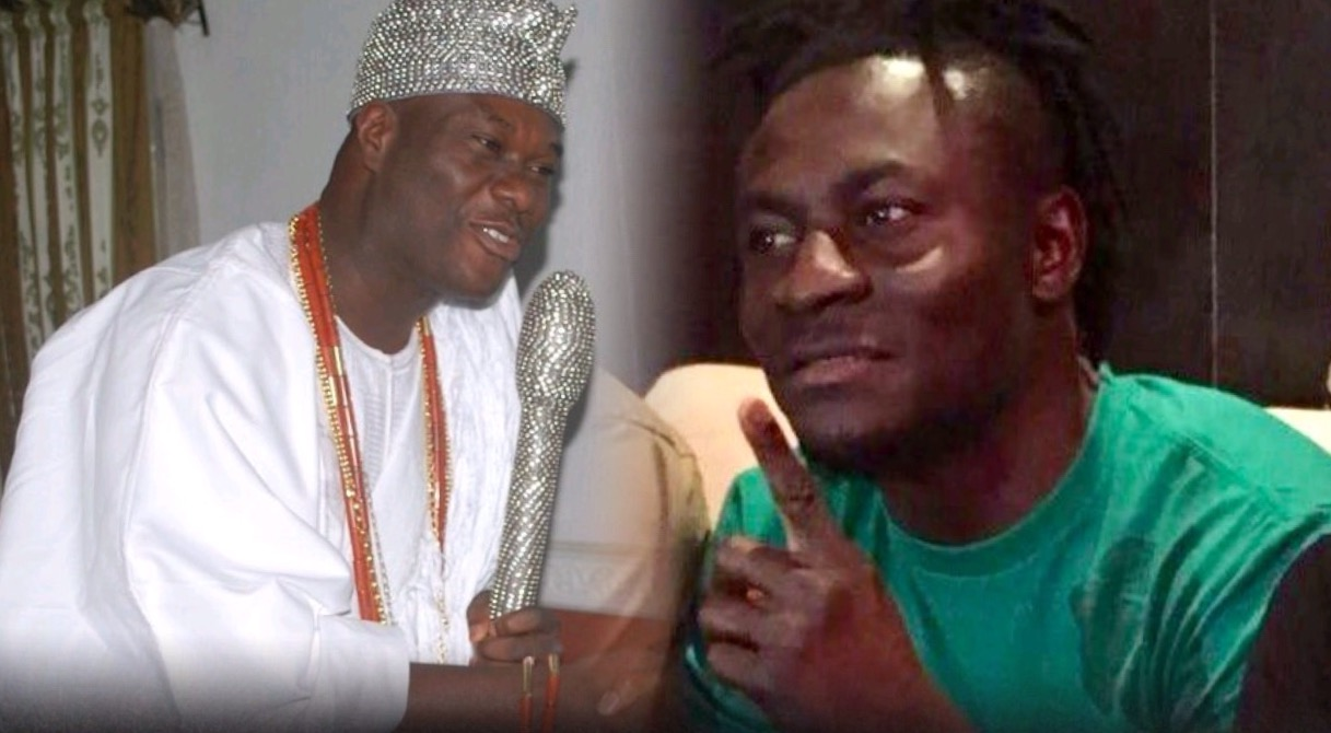Ooni of Ife Visits Martins At Home