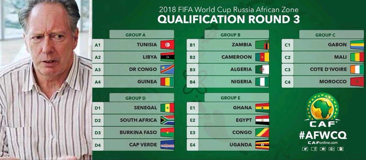 Bonfrere Jo: Nigeria Will Qualify For Russia 2018 World Cup