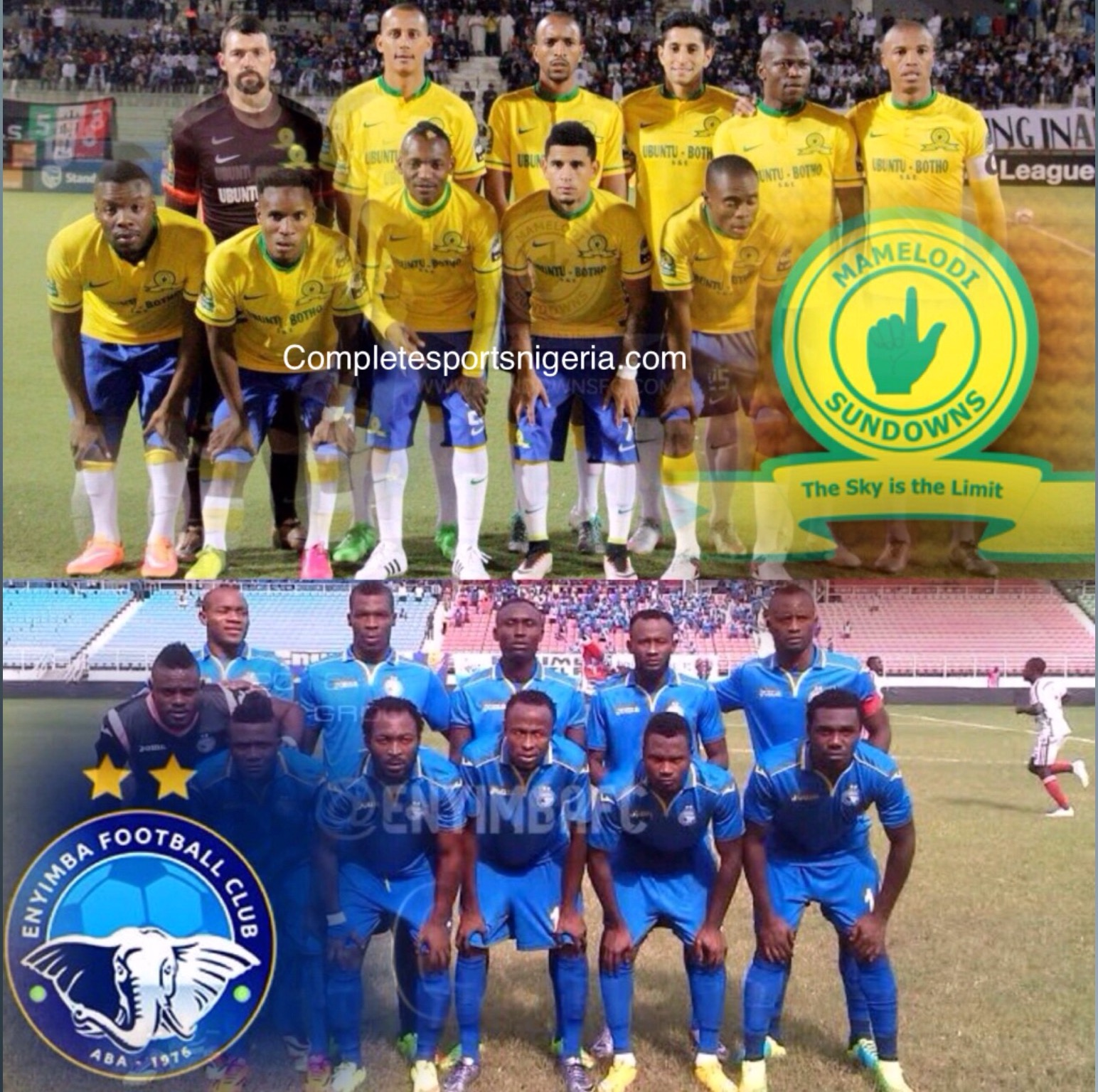 SCORECARD! How Enyimba Have Fared Vs South African Clubs Ahead Sundowns Clash