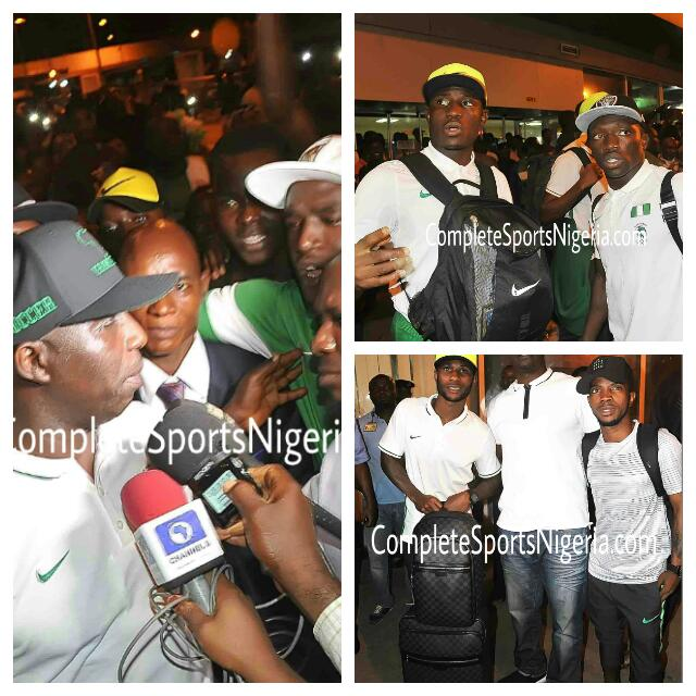 Olympic Eagles Land In Lagos After Rio Bronze
