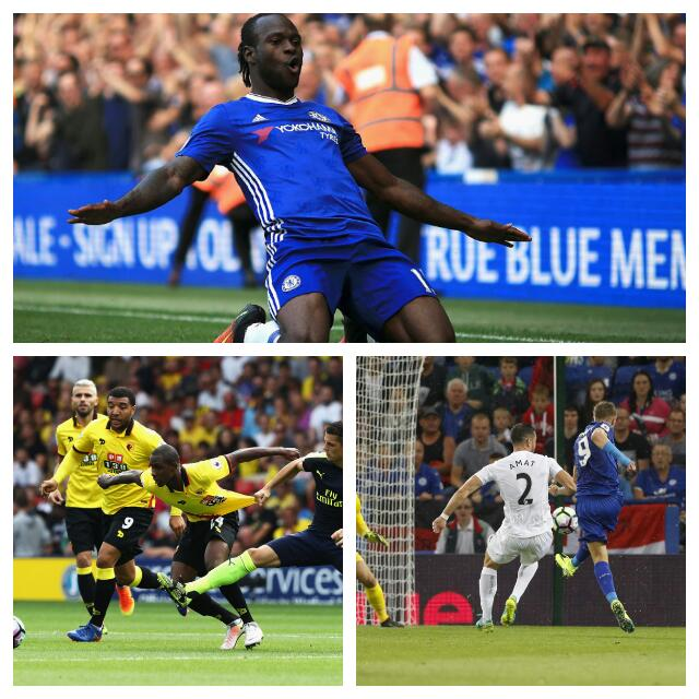 Moses Scores In Chelsea Win; Ighalo, Success Lose With watford