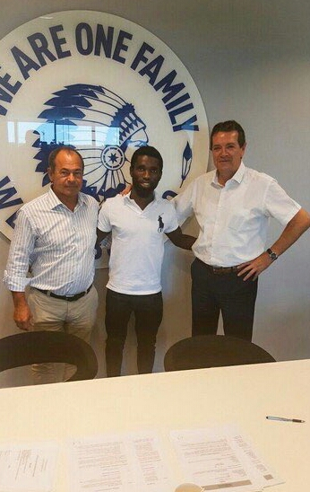 Rabiu Ibrahim Joins Simon At Gent