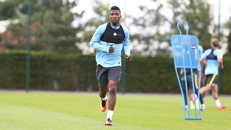 Guardiola Declares Iheanacho Fit For West Ham Clash