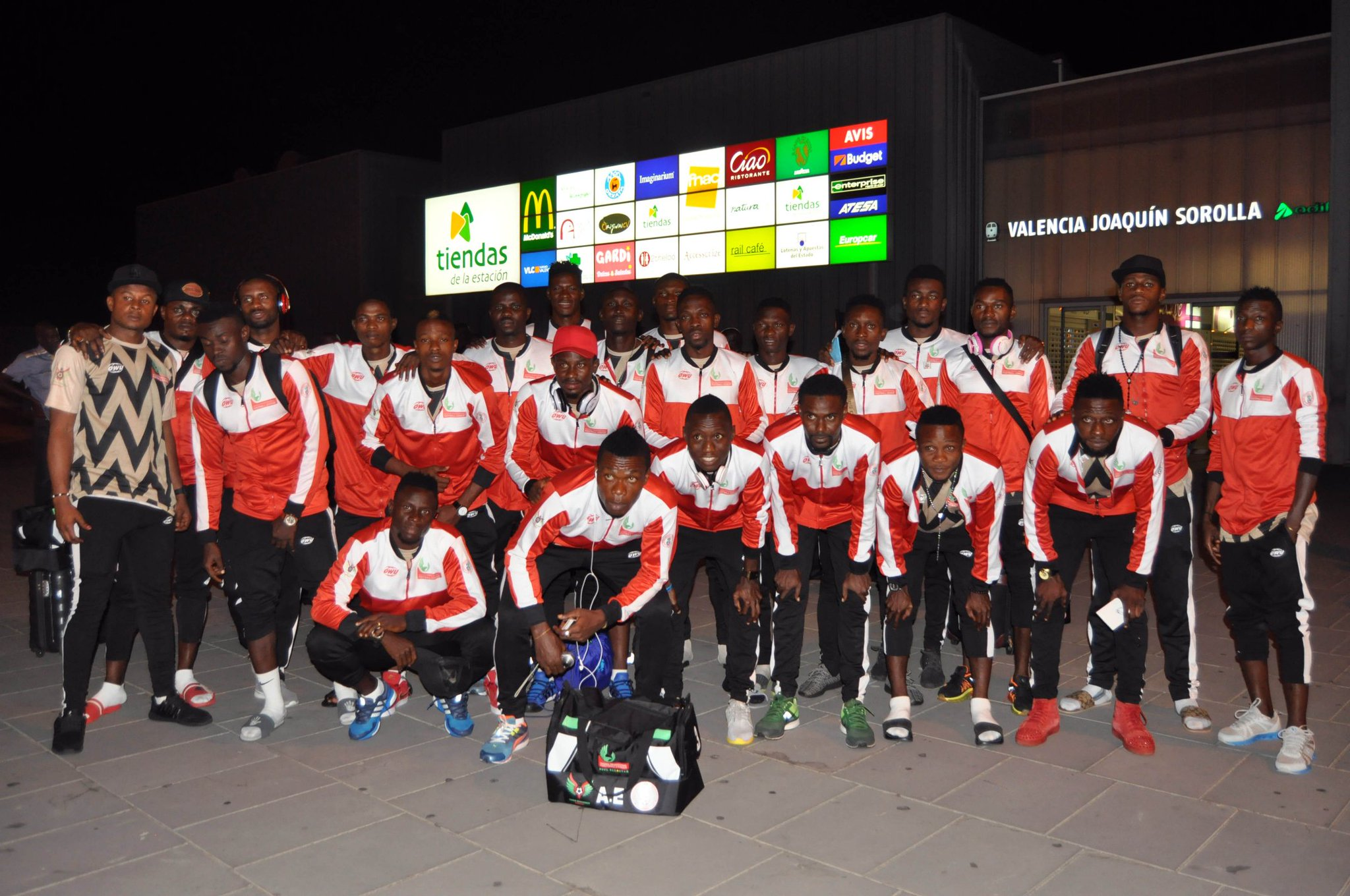 Akas: NPFL All-Stars Not Scared Of Valencia, Malaga