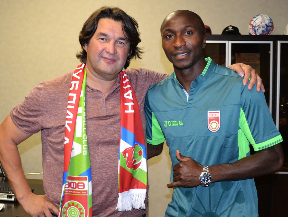 Kehinde Fatai Joins Russia's FC Ufa From Sparta