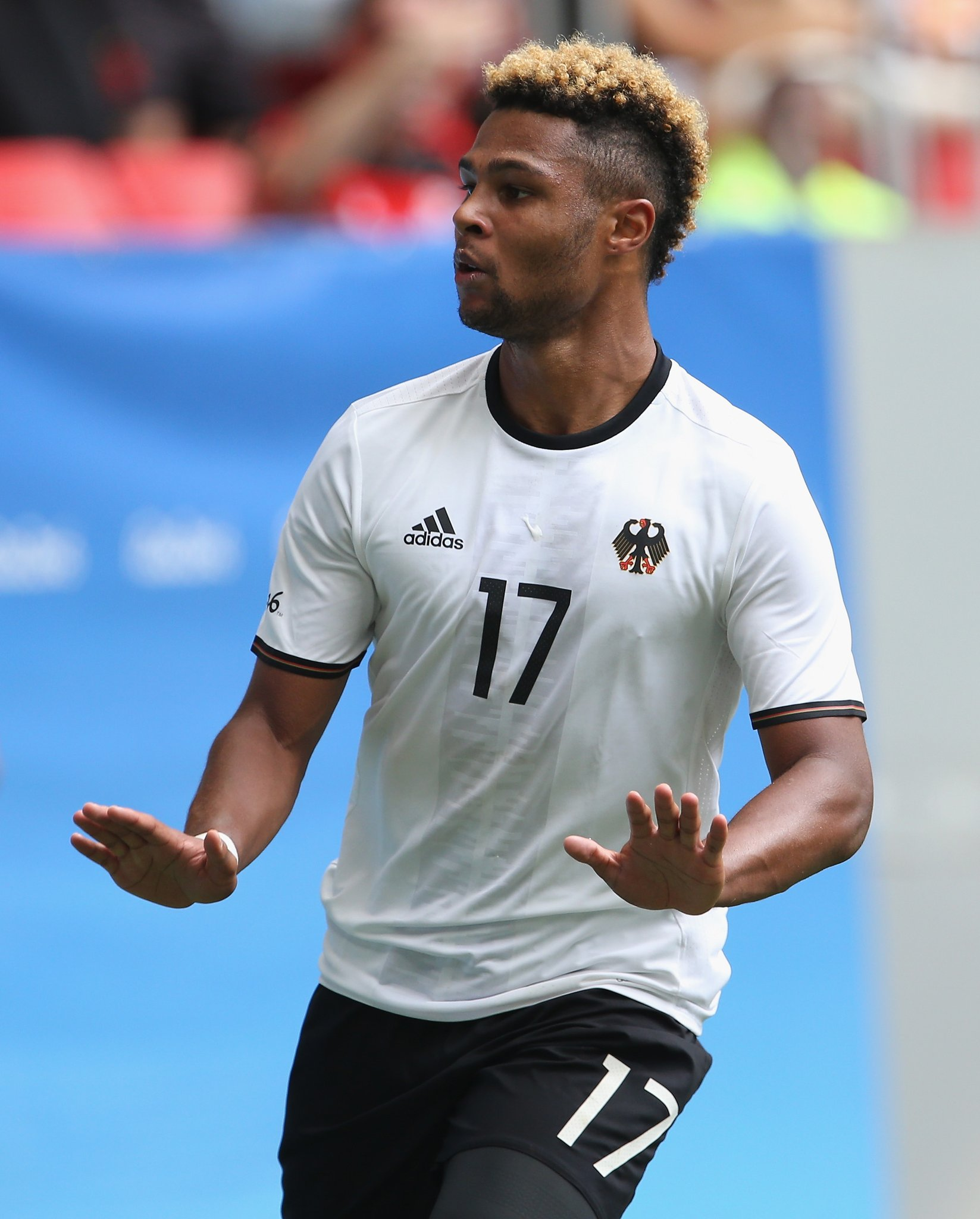 Arsenal Star Gnabry Backs Germany To Beat Olympic Eagles