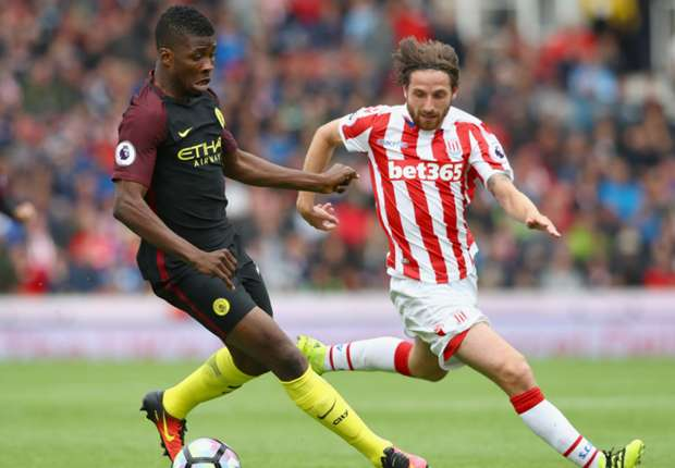 "Iheanacho Hails ""Top Class"" Man City After Stoke Win"