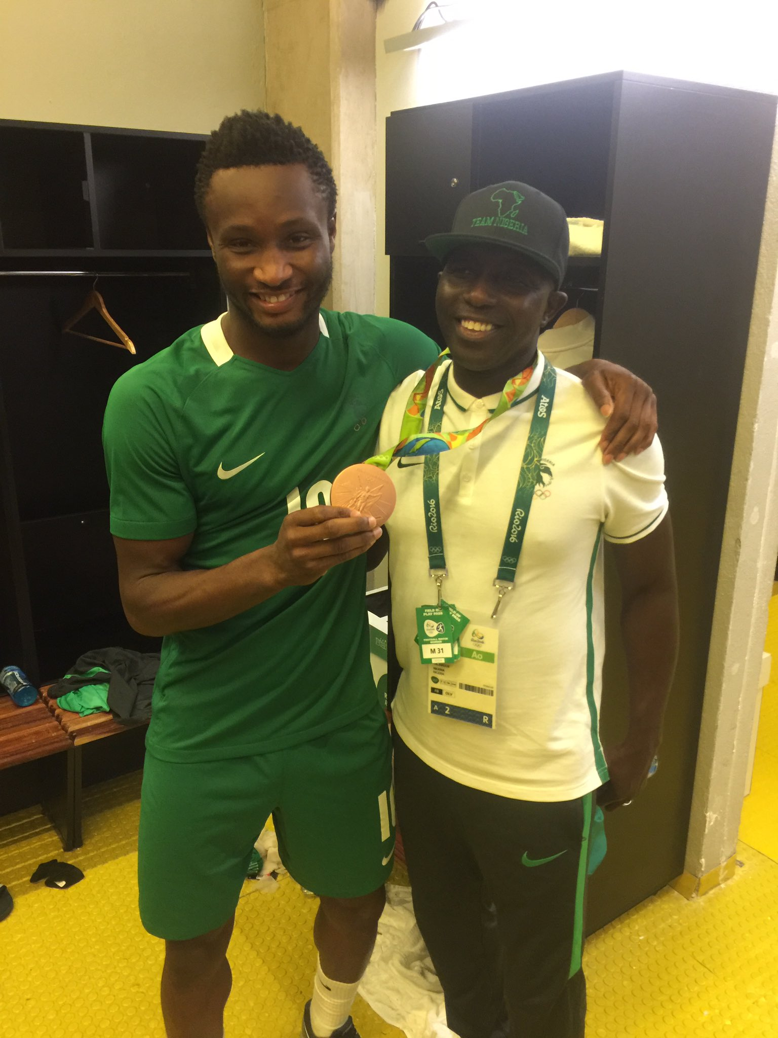 Mikel Proud To Lead Olympic Eagles To Rio Bronze