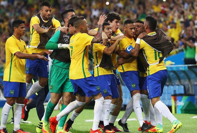 Neymar Inspires Brazil To First Men's Football Gold