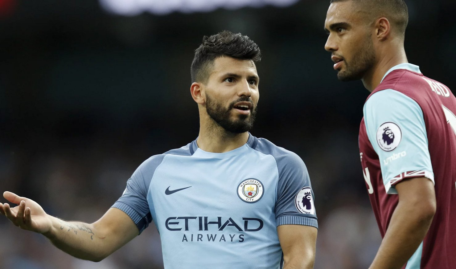 Aguero Charged With Violent Conduct, Faces Manchester Derby Ban