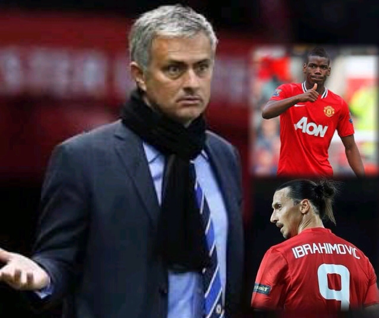 Mourinho Confirms Pogba For  Soton Clash; Relishes Zlatan's Happiness