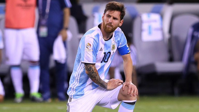 FIFA Ban Messi For Four Matches