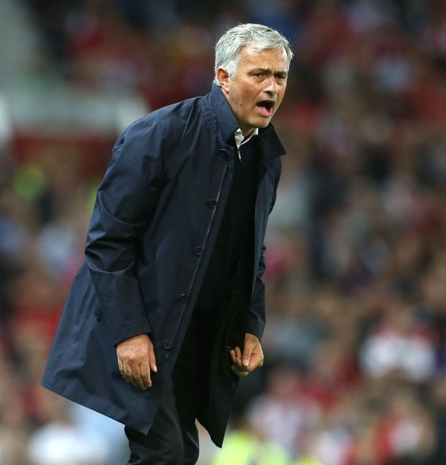 Mourinho Blames Referee, United Players For Manchester Derby Loss