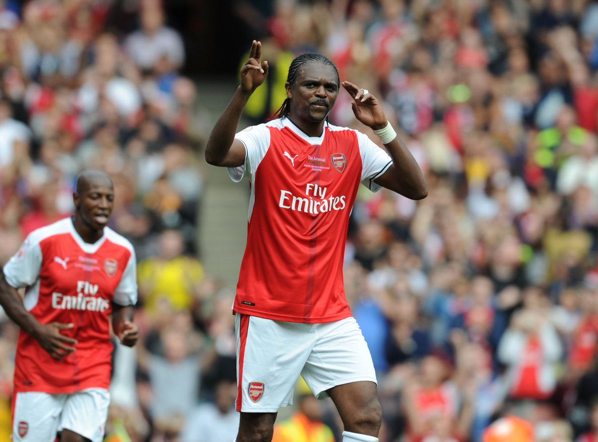 Kanu Happy To Help Raise £1m For Arsenal Foundation