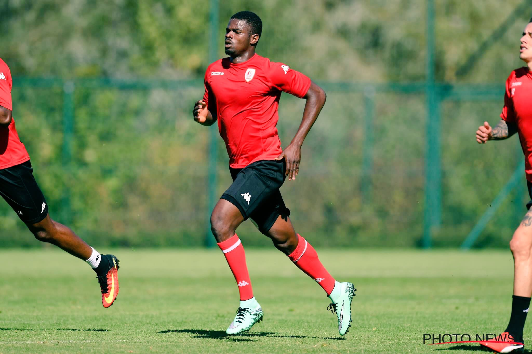 Echiejile Gets No.5 Jersey, Hopes For Spectacular Standard Liege Debut