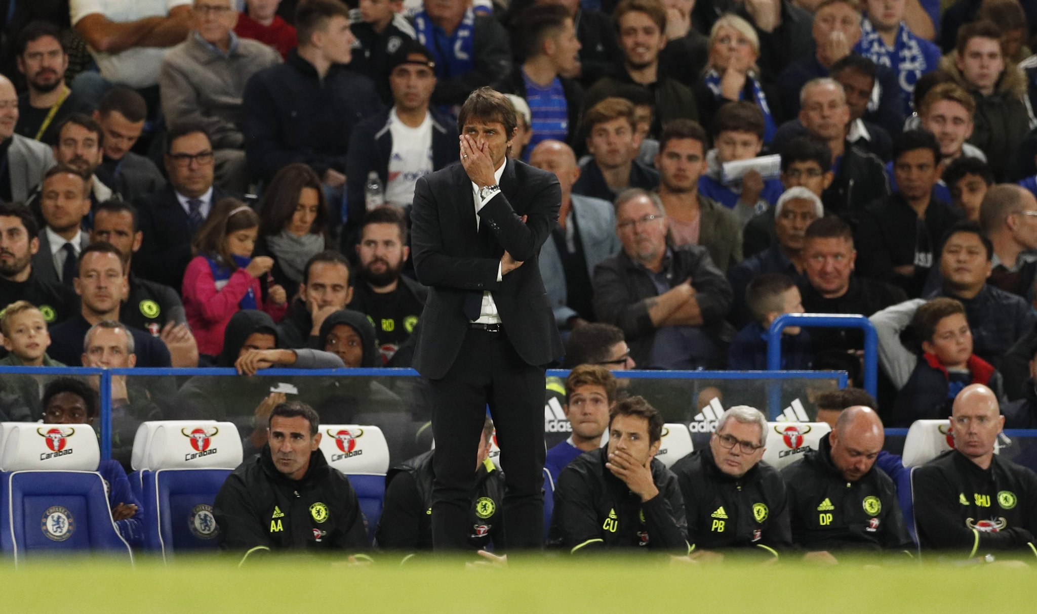 Conte Laments Chelsea Defeat To Liverpool, Defends Late Subs