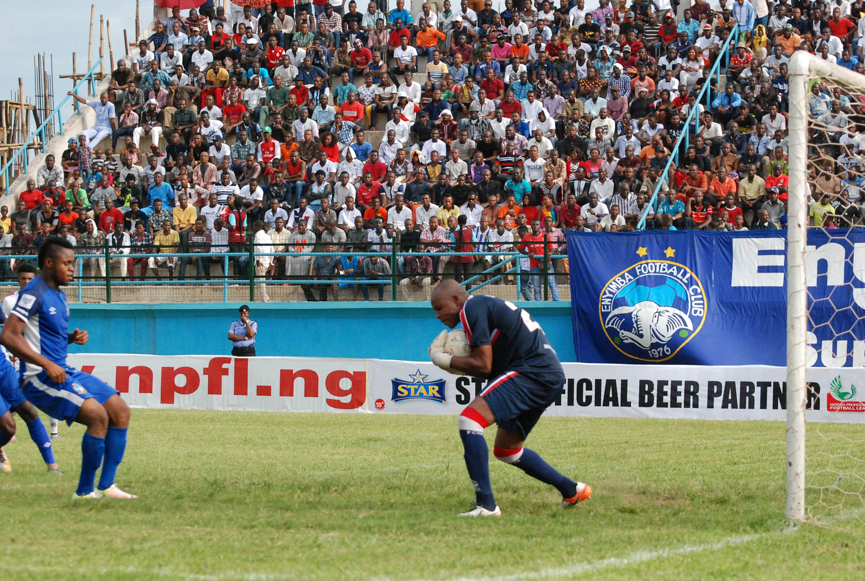 Super-4: IfeanyiUbah Goalie Ezenwa Rues Defeat To Rivers United