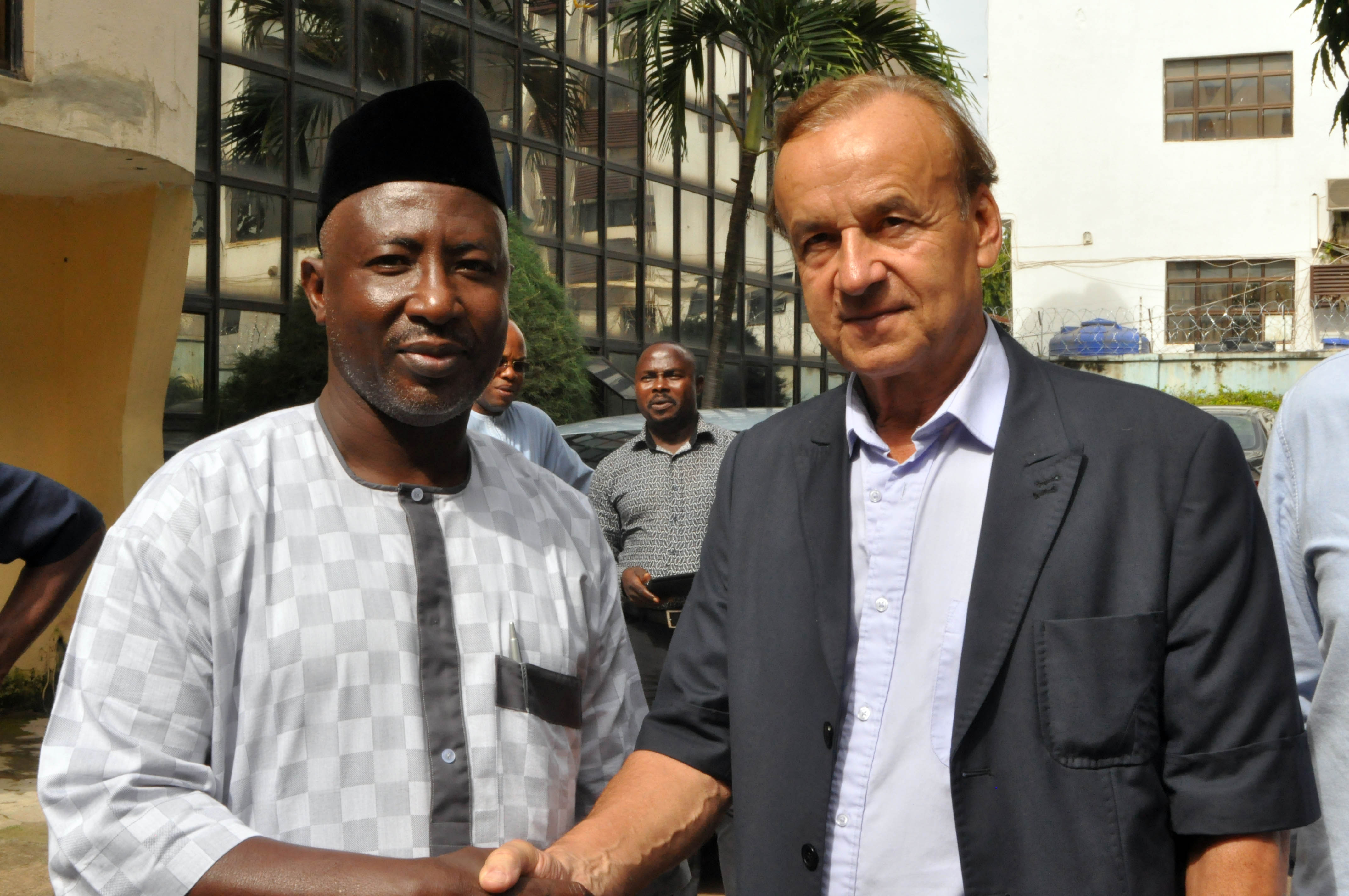 Rohr: Super Eagles' Confidence Will Return For World Cup Qualifiers