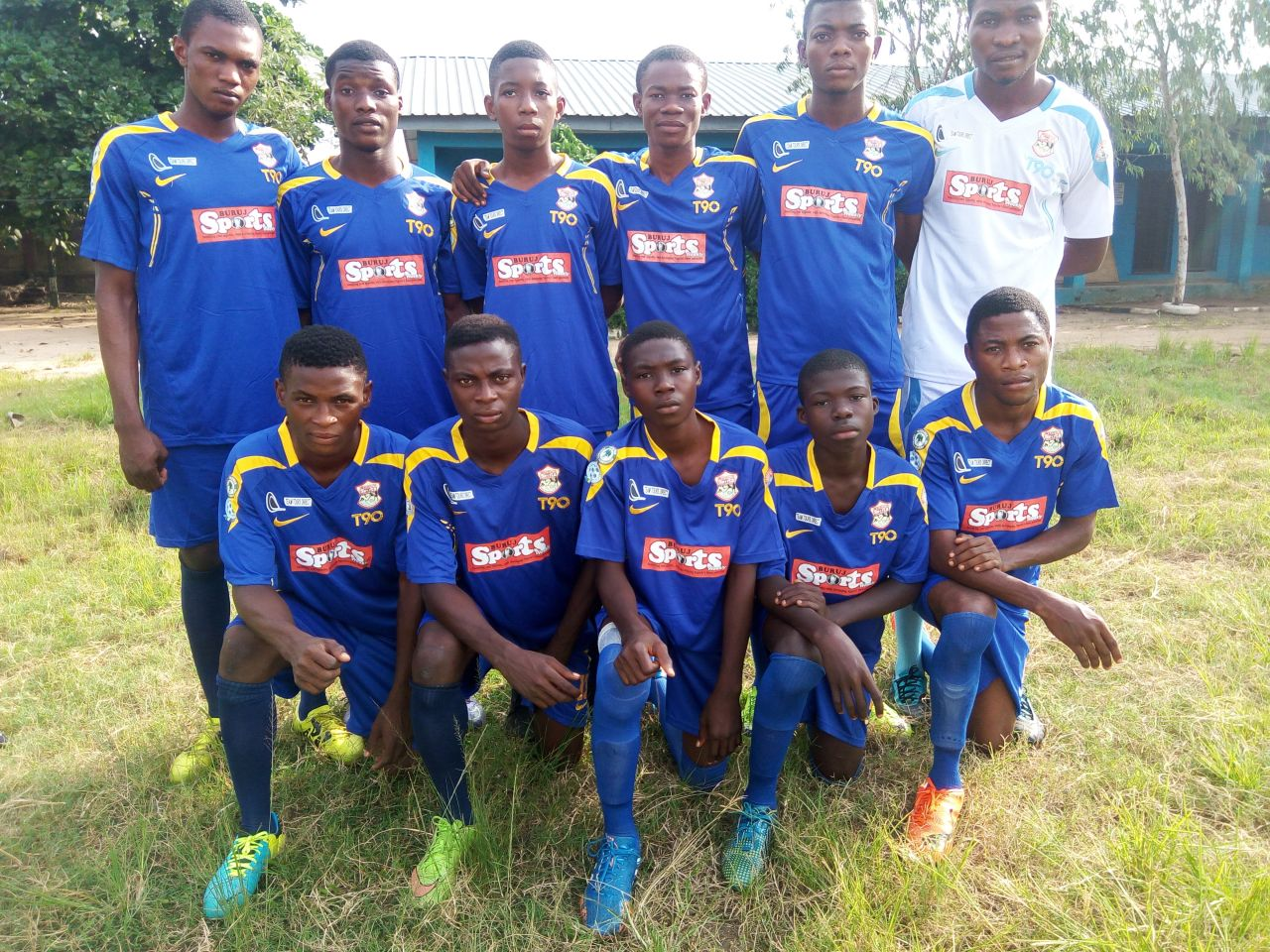 Buruj Academy Face 36 Lions In Agege Stadium Friendly
