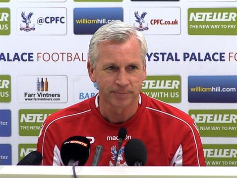 Pardew Rules Self Out Of England Job, Happy At Palace