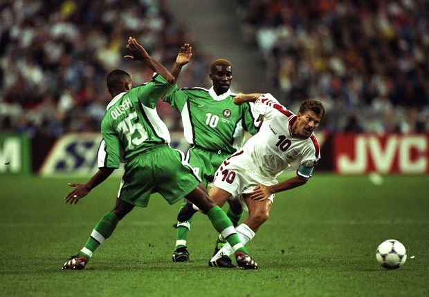 Laudrup: Underdogs Denmark Feared Nigeria's Okocha, Kanu At France '98
