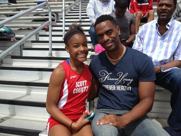 TRAGIC! US Sprinter Gay's Teen Daughter Shot Dead